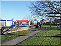 NZ3553 : Petrol station and supermarket branch, Silksworth Road by Trevor Littlewood