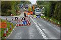 C4933 : Roadworks and Diversion at Magheralahan by David Dixon