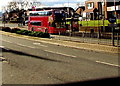 SP0889 : Red double-decker bus, Lichfield Road, Aston, Birmingham by Jaggery