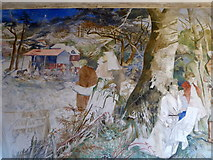 TR0149 : Mural, St. Cosmas & St. Damian, Challock by pam fray