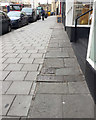 ST5873 : Paving, east side of Park Street, Bristol by Robin Stott