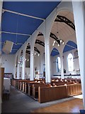 TQ2160 : Inside St Martin of Tours Epsom (14) by Basher Eyre