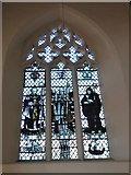 TQ2160 : St Martin of Tours Epsom: stained glass window (a) by Basher Eyre