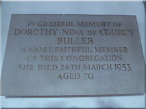 TQ2160 : St Martin of Tours Epsom: memorial (15) by Basher Eyre