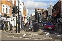 TQ1649 : High Street, Dorking by Stephen McKay