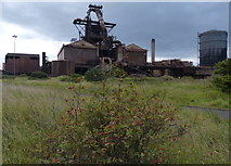 NZ5626 : The former Teesside Steelworks by Mat Fascione