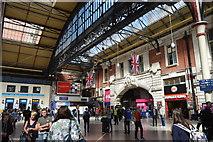 TQ2879 : Victoria Station by N Chadwick