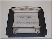 TQ2160 : St Martin of Tours Epsom: memorial (27) by Basher Eyre