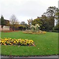 SJ9295 : Flowerbeds in Victoria Park by Gerald England