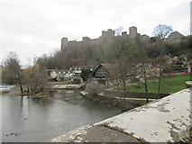 SO5074 : Ludlow Castle (Viewed from Dinham Bridge) by Fabian Musto