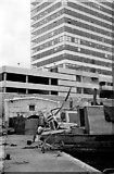 SP0686 : Gas Street Basin - the pedestrian entrance (1968) by Martin Tester