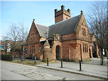 NS5666 : Maggie's Centre, Glasgow University Gatehouse by Richard Sutcliffe