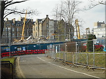 NS5666 : Demolition of the Western Infirmary by Richard Sutcliffe