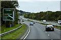 SH9078 : North Wales Expressway approaching Junction 23 (Llandulas) by David Dixon