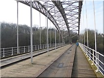 NZ1164 : The elegant lines of Haggs Bank Bridge by Oliver Dixon