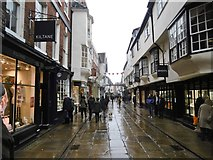 SE6052 : York, Stonegate by Mike Faherty