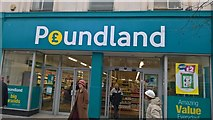 TM1714 : Poundland Clacton on Sea by malcolm rayment