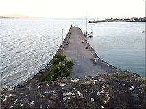 J1811 : Northern breakwater of Carlingford Harbour by Eric Jones