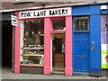 NZ2464 : The PINK LANE BAKERY, Pink Lane, NE1 by Mike Quinn