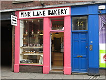 NZ2464 : The PINK LANE BAKERY, Pink Lane, NE1 by Mike Quinn