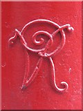 NZ2464 : Victorian postbox, Newgate Street / Clayton Street, NE1 - royal cipher by Mike Quinn