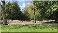 SP3165 : Newish skate park, Victoria Park, Leamington by Robin Stott