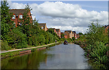 SO8277 : Staffordshire and Worcestershire Canal near Kidderminster, Worcestershire by Roger  Kidd
