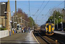 NT1067 : Kirknewton Station by Anne Burgess