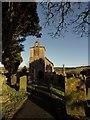 NY5674 : St Cuthbert's Church, Bewcastle by Jon Alexander