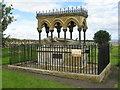 NU1734 : Memorial to Grace Darling at Bamburgh by M J Richardson