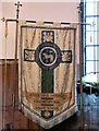 SJ9391 : George Lane Woodley Congregational Sunday School banner by Gerald England