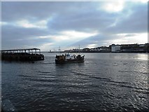 NZ3668 : Fishing Boat Leaving North Shields Fish Quay Harbour by Bill Henderson