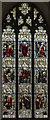 SK8608 : South transept window, All Saints' church, Oakham by Julian P Guffogg