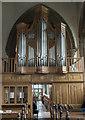 SK8608 : Organ, All Saints' church, Oakham by Julian P Guffogg