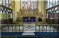SK8608 : Sanctuary, All Saints' church, Oakham by J.Hannan