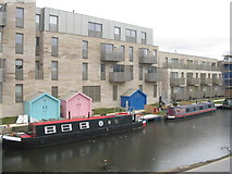 NT2472 : The Union Canal at Viewforth by M J Richardson
