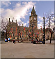 SJ8398 : Manchester Town Hall, Albert Square by David Dixon