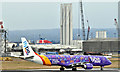 J3775 : G-FBEJ (Yorkshire livery), Belfast City Airport (February 2018) by Albert Bridge
