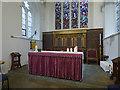 SE6051 : St Helen Stonegate - sanctuary by Stephen Craven