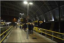 SJ8499 : Victoria Metrolink Station by N Chadwick