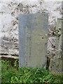 SN9950 : Writing on the headstone by Bill Nicholls