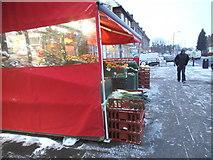 TQ2087 : Shop display on Church Lane, Kingsbury by David Howard