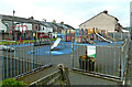 SD3078 : North Lonsdale Road Play Area by Mary and Angus Hogg