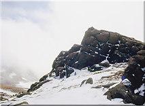 NJ1301 : The summit tor of Ben Avon by Alan Reid