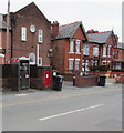 SJ3068 : Phonebox and postbox, Ash Grove, Shotton by Jaggery