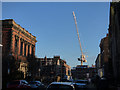 SE5951 : Crane at the end of Priory Street by Stephen Craven