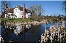 SO6855 : Moat and Lower Brockhampton by Philip Halling