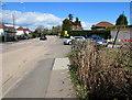 ST3092 : North along Newport Road, Llantarnam, Cwmbran by Jaggery