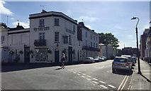 SP3265 : Corner of George Street and Church Terrace, Royal Leamington Spa by Robin Stott