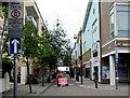ST1974 : Pedestrian Zone, Bute Street, Cardiff by Jaggery